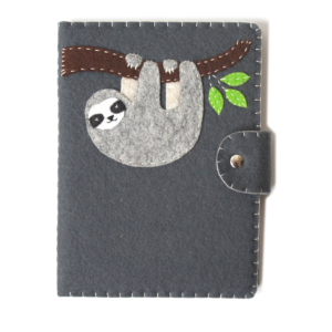 sloth kindle cover