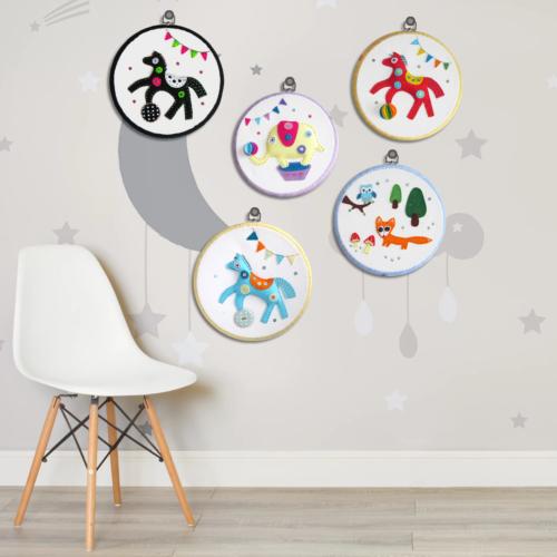 children room hoops