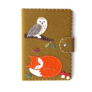 autumn fox owl kindle cover