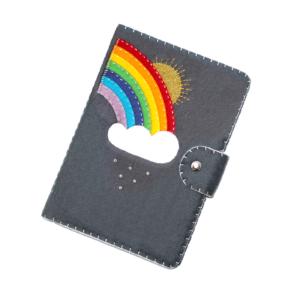 rainbow kindle cover